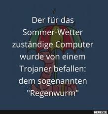 Der Für Das Sommer Wetter Zuständige Computer Lustige Bilder