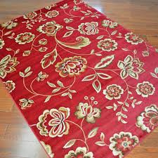 flora times red fl area rugs great area rugs ikea