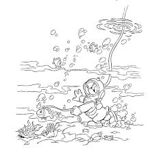 Donald Duck Kleurplaten Disneykleurplatencom