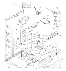 Ge monogram ice maker parts diagram refrigerator p series model pss