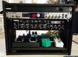 diy ikea pedal board and 8 space studio rack