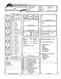 hero forge character sheet great character
