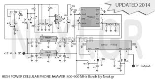 high power mobile phone jammer circuit
