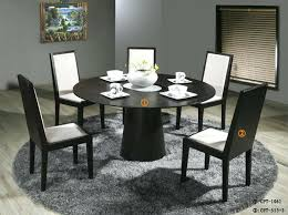 round glass dining table set for 6 room chairs kitchen tile designs india