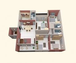 Perfect Small House Plans 4 Bedrooms On Bedroom  ShoisecomSmall 4 Bedroom House Plans
