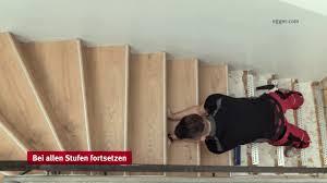 Steinteppich verlegen können auch heimwerker. Treppenrenovierung Mit Laminat Egger Pro Treppensystem Youtube