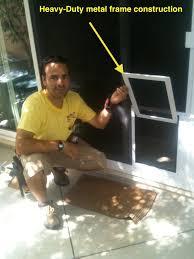 striking sliding patio door with dog door sliding patio screen door with dog door images doors