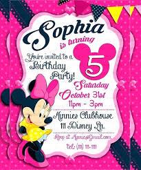 Mickey Mouse First Birthday Invitations Inspirational Invitation