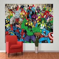 Marvel Comic Bedroom 1 Wall Mural Photo Giant Wallpaper Paper Poster Living Room