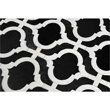 black and white area rug. transitional area rug from kyle bunting, inc., model: reflect black and white s