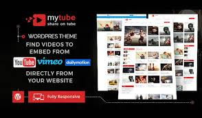 website template video mytube video wordpress theme website template for youtube vimeo