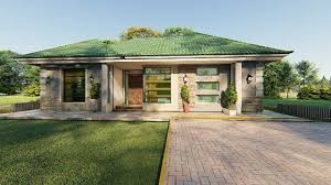 bungalow house plan for 3 bedroom