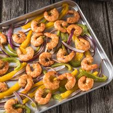sheet pan shrimp fajitas sheet pan shrimp fajitas hamiltonbeach com
