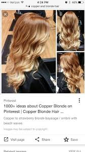 Copper Blonde Long Blonde Hairstyles Keys