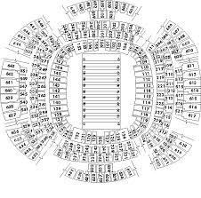 Seating Chart Superdome New Orleans Louisiana Superdome New Orleans La Seating Charts Page