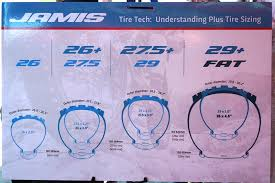 Plus Size Tire Chart Soc16 Jamis Goes Big By Going Small With New 26 Eden