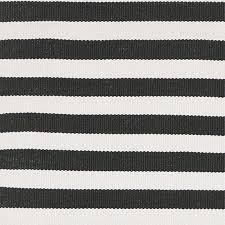 stripe black cream for indoor outdoor rug