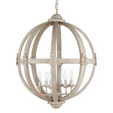 incredible white wood orb chandelier lighting wooden for decorations 10