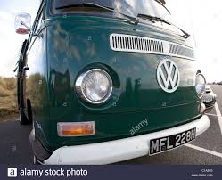 Camper Cars Volkswagen Front Close Up Vintage Vw Camper Van Vehicles Old Stock