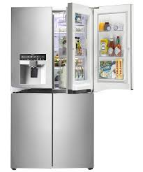 lg french 4 door refrigerator. lg-multi-door-premium-fridge-freezer-gmj916nshv-door- lg french 4 door refrigerator d
