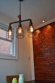 industrial pipe lighting. Interesting Pipe Industrial Light Pendant Lighting  Pipe Light Edison Bulbs  Sold Separately Throughout