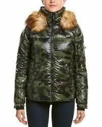 S13 Coat Size Chart Details About S13 Womens Kylie Faux Fur Trim Puffer Jacket