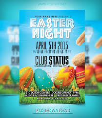 Easter Night Flyer Template By Hotflyers On Deviantart