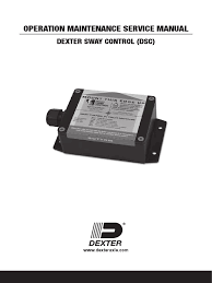 dexter axles sway control service manual trailer (vehicle Control Panel Wiring Diagram at Dexter Sway Control Wiring Diagram