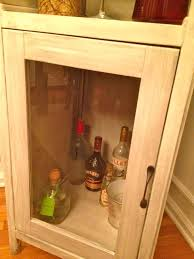 Alcohol Cabinet Ana White Liquor Cabinet From Benchmark Storage Media Unit Diy