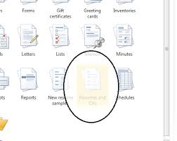 Microsoft Office Free Resume Templates Template Word 2013 2010 All