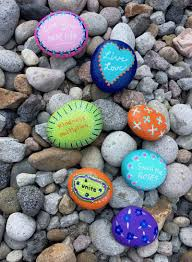 rock painting ideas for the kindness rock project