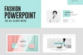 Temas Powerpoint Fashion Powerpoint Presentation Template Free Free