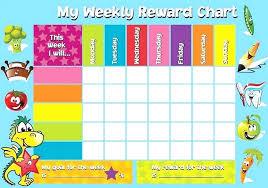 Editable Reward Chart Rewards Chart Editable Donatebooks Co