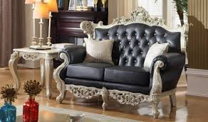 Traditional Living Room Sets 602 Cesar Traditional Living Room Set In Silver By Meridian