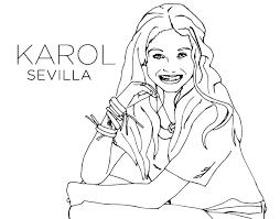 Disegno Di Karol Sevilla Di Soy Luna Da Colorare Acolorecom