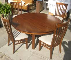 luxury stickley mission dining table 16 round