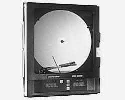 Partlow Mrc 5000 Circular Chart Recorder 12 Inch Chart Offering High Resolution Of Recorder Process