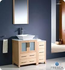 inexpensive bathroom vanities. Affordable Bathroom Vanities Light Oak Modern Vanity W Side Cabinet Vessel Sink Budget . Inexpensive