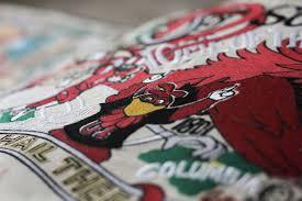 University Of South Carolina Embroidery Designs University Of South Carolina Embroidered Pillow Collegiate