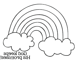Rainbow Printable Coloring Pages Coloring Coloring Pages Of A