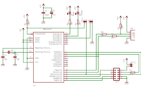atmega8 circuit diagram the wiring diagram building and installing usbasp usb programmer of avr wiring diagram