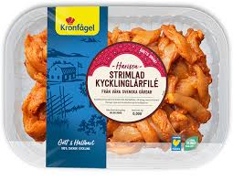 The products are marketed under well known brands, which stand for quality and good animal welfare. Kronfagel Smakrabatt