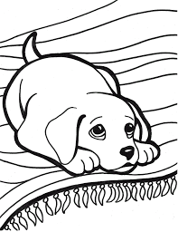 It seems this beautiful little dog wearing a collar and tongue out is wanting to play. Puppy Coloring Pages Coloring Pages For Kids