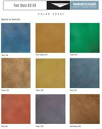 Heres A Sample Of Westcoats Fast Stain Sc 36 Color Chart