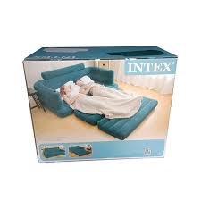 intex inflatable furniture. interesting furniture inflatable sofa bed couch intex furniture air lounge pull out queen  mattress with hand pump on m