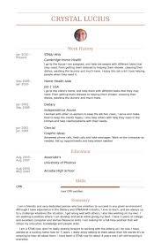 Stna/ Hha Resume samples