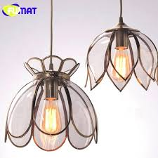 lotus pendant light vintage lotus lampshade pendant light single head lotus pendant light silver lotus pendant lotus pendant light