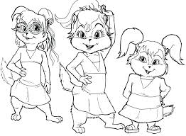 alvin and the chipmunks coloring pictures to print coloring pages and the chipmunks coloring pages chipmunk