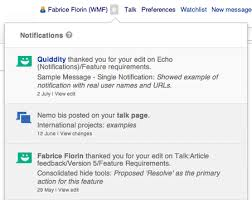 wikipedia article template wikipedia notifications thanks wikipedia