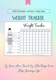 Printable Weekly Weight Loss Chart Pdf 009 Weight Loss Charts Thefittutor Template Ideas Formidable